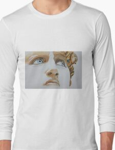 Michelangelo's David: Those Eyes! Long Sleeve T-Shirt
