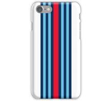 Single Martini stripe iPhone Case/Skin