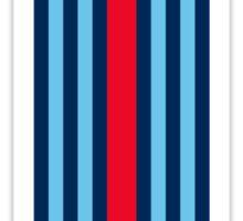 Single Martini stripe Sticker