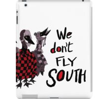 Oakland Geese don't fly South iPad Case/Skin