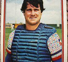 369 - Jim Sundberg by Foob's Baseball Cards