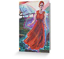 The Red Fairy Greeting Card