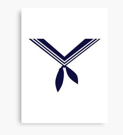Seaman uniform sailor Canvas Print
