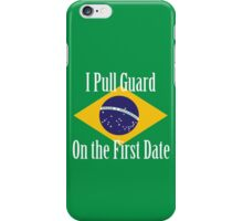 First Date BJJ (White) iPhone Case/Skin