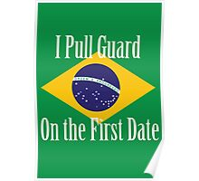 First Date BJJ (White) Poster