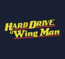 Hard Drive and Wing Man by RoufXis