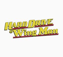 Hard Drive and Wing Man One Piece - Long Sleeve