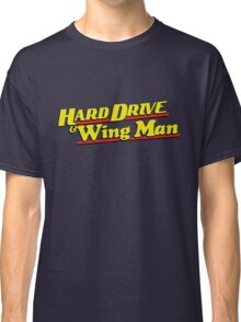 Hard Drive and Wing Man Classic T-Shirt
