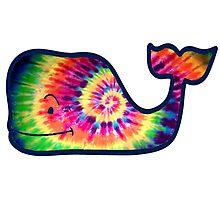 Vineyard Vines Whale Tie-Dye Photographic Print