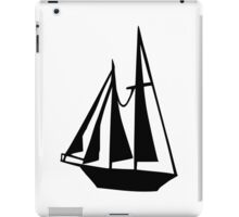 Sail boat iPad Case/Skin