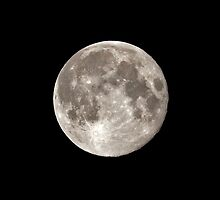 Big August Moon by appfoto