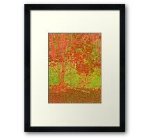 Fall Splender in Pop Framed Print