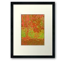 Fall Splender in Pop Framed Print