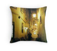 Griechengasse, Late Evening - Vienna, Austria Throw Pillow