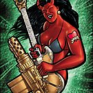 SMG Guitar 002 censored by Ian Sokoliwski