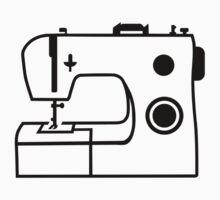 Sewing machine One Piece - Short Sleeve