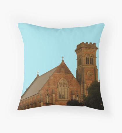 St Paul's Catholic Church - Mt Gambier Throw Pillow