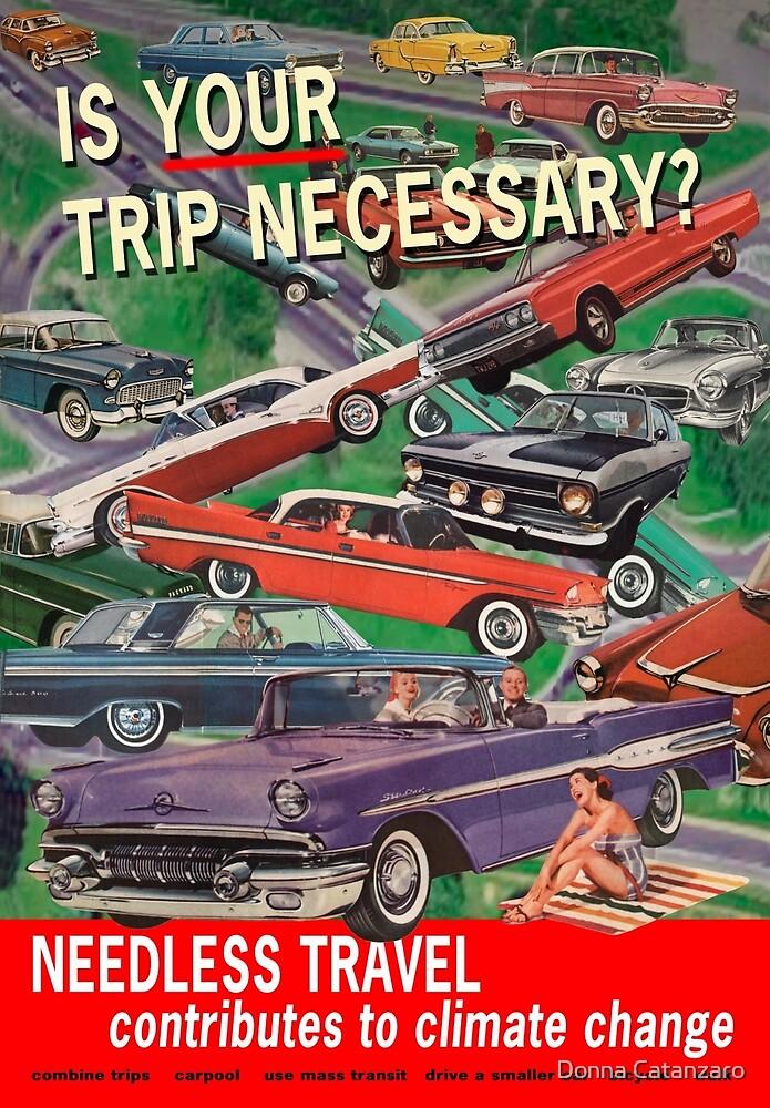 Is Your Trip Necessary? by Donna Catanzaro