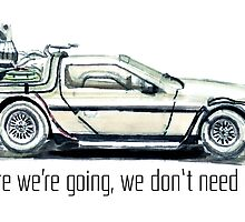 where we're going, we don't need roads by keironcalder