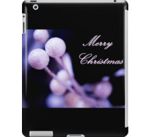 Merry Christmas Postcard Christmas iPad Case/Skin
