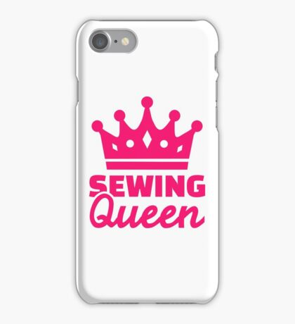 Sewing queen iPhone Case/Skin