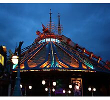Space Mountain: Mission 2 Photographic Print