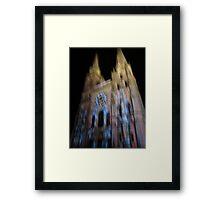 Cathédrale Framed Print