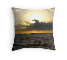 sunset in paradise 2 Throw Pillow