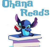 Ohana Reads Logo by Stephanie Ehmann