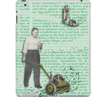 Men Rule the World iPad Case/Skin