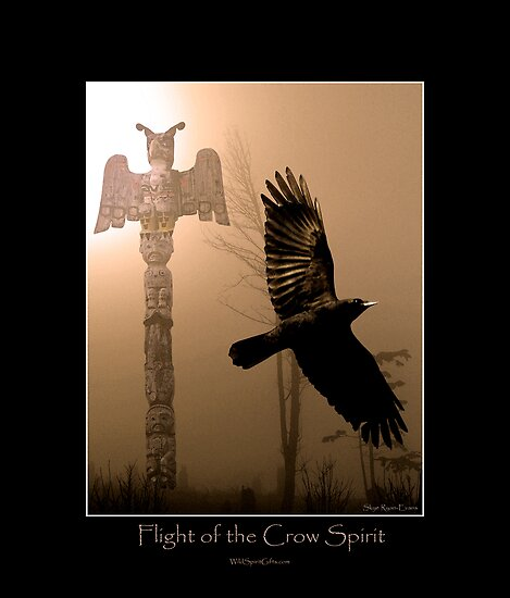 """Flight of the Crow Spirit"" by Skye Ryan-Evans"