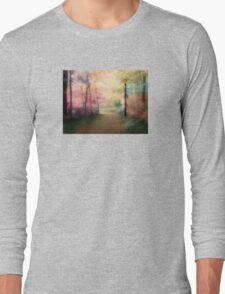 A Walk In The Park - Infrared Series Long Sleeve T-Shirt