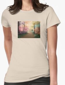 A Walk In The Park - Infrared Series Womens Fitted T-Shirt