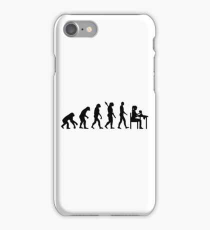 Evolution sewing iPhone Case/Skin