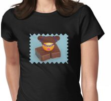 chocoholics are Human Beings too! Womens Fitted T-Shirt