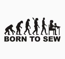 Evolution born to sew by Designzz