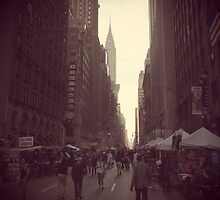 New York streetscape by pennypocket