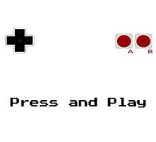 Press and Play by pejino