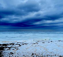 Blue Seashore by Kathleen   Sartoris