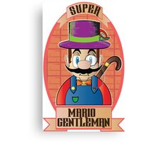 Mario - Gentleman Canvas Print