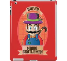 Mario - Gentleman iPad Case/Skin