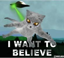 x-files cat by darklordcat