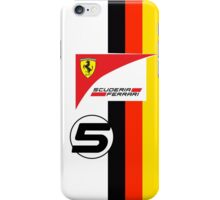 Vettel's 2015 Helmet iPhone Case/Skin