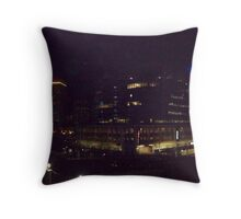 downtown providence r.i.  Throw Pillow
