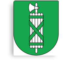 Coat of Arms of Canton of St. Gallen Canvas Print