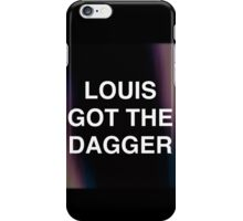 LOUIS GOT THE DAGGER iPhone Case/Skin