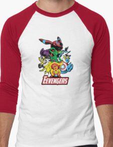 The Eevegers Men's Baseball ¾ T-Shirt