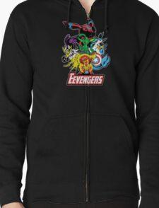 The Eevegers Zipped Hoodie