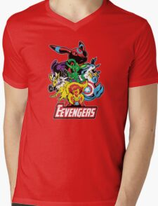 The Eevegers Mens V-Neck T-Shirt