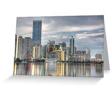 Miami Greeting Card